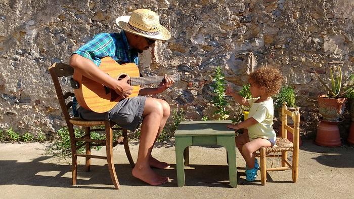 Austin and Lulu Guitar