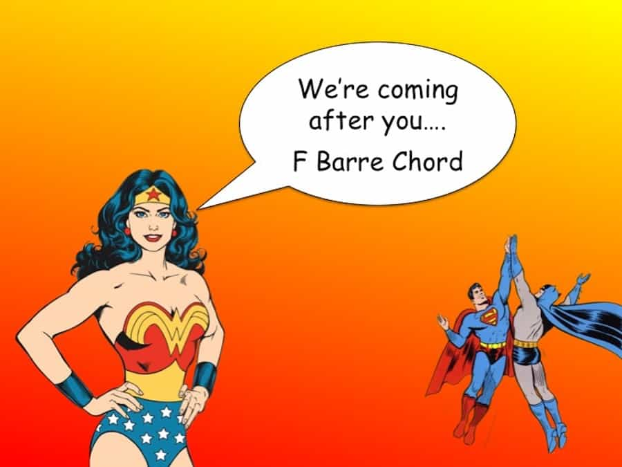 Make F Barre Chord Easier