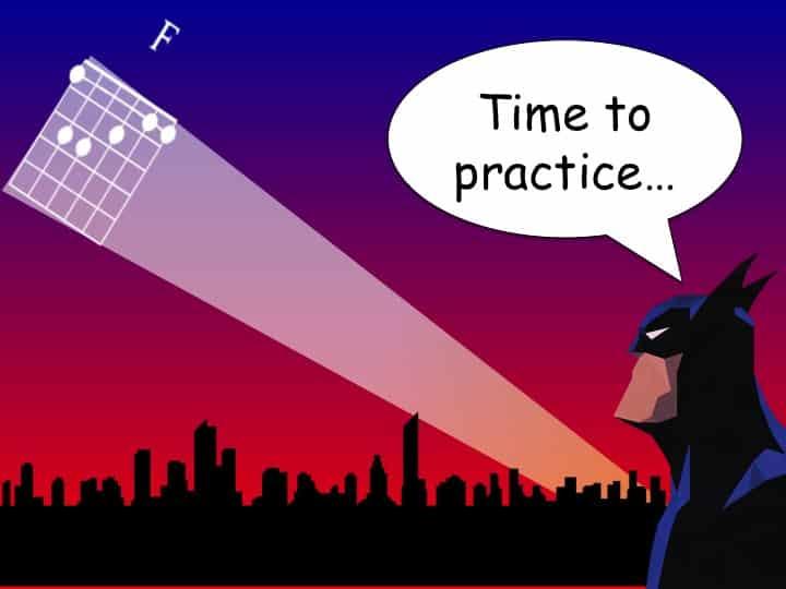 Practice Guitar Chord
