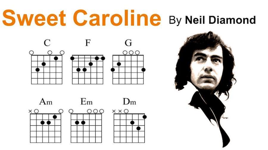 Sweet Caroline by Neil Diamond