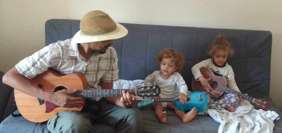 Austin Ukulele Babies Guitar