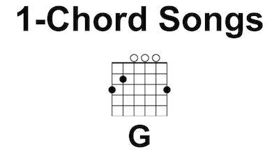 1-Chord Guitar Songs