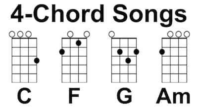 4 Chord Ukulele Songs